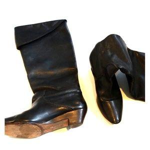 Black Frye boot size 7